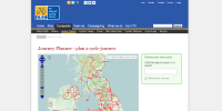 Cycling UK cycle journey planner